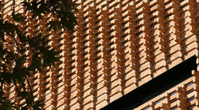 Brick Pattern House / Alireza Mashhadimirza