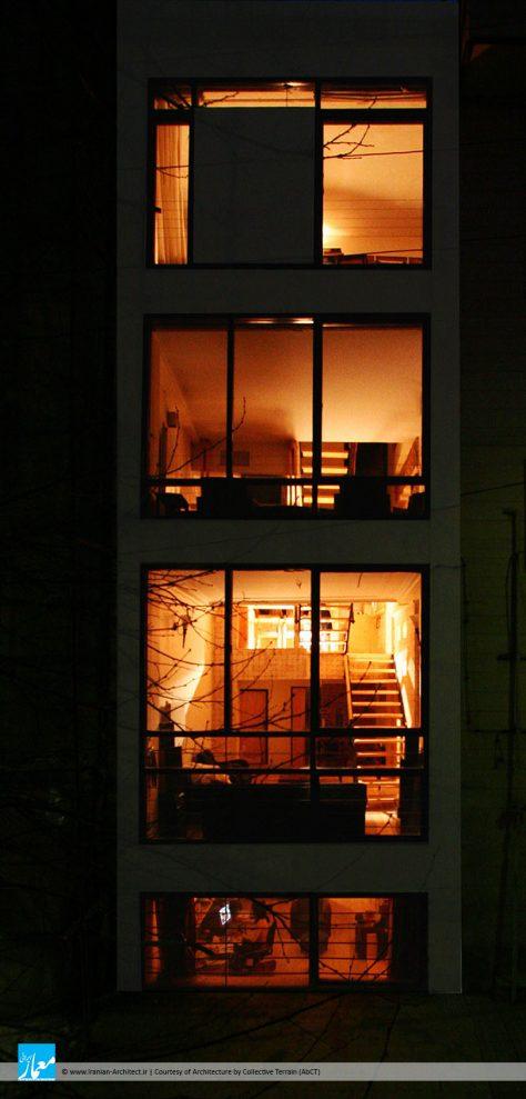خانه پلهای / دفتر معماری کالکتیو ترین