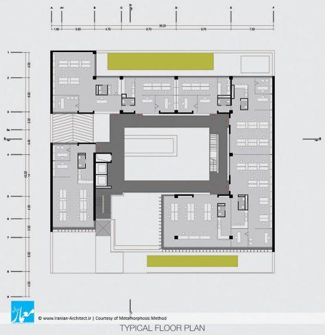 ساختمان اداری ساحل سپهر / شیوه دگردیس