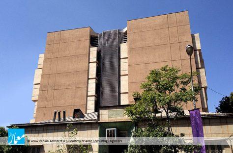 ساختمان اداری نشان / مهندسان مشاور آبار