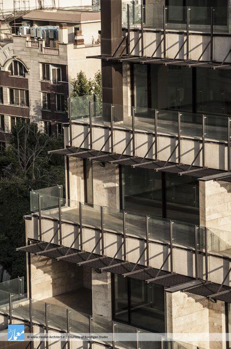 ساختمان مسکونی حیات الهیه / دفتر معماری بوژگان