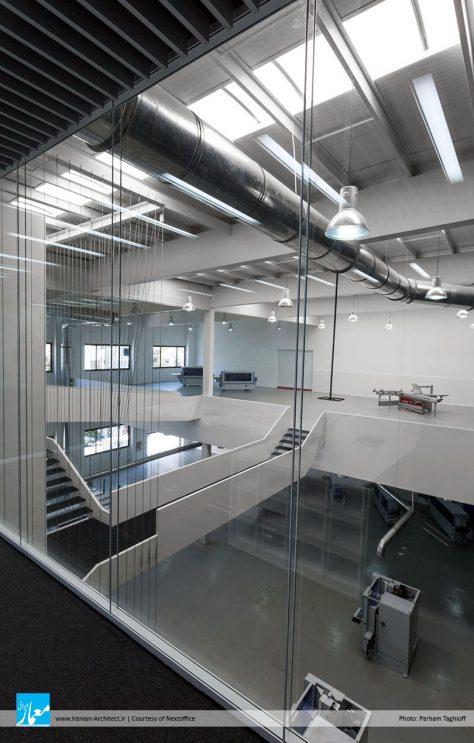 نمایشگاه صنعتی ـ اداری آریو چوب / دفتر معماری دیگر