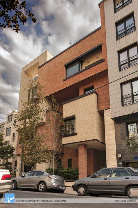 آپارتمان خانوادگی اطلسی / دفتر طرح ساخت آوگون