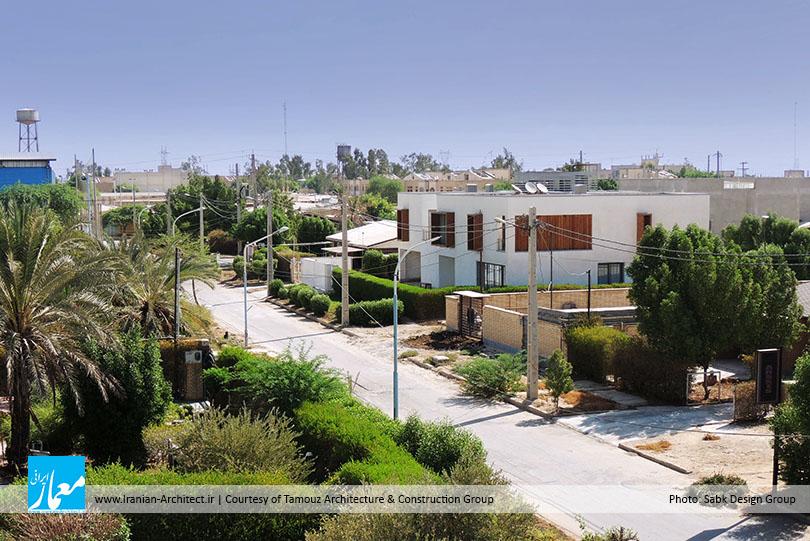 ـ گروه معماری و ساخت تموز (هومن تهمتنزاده، مرجان بنائی، حسین صلواتی خوشقلب) BA2 خانه