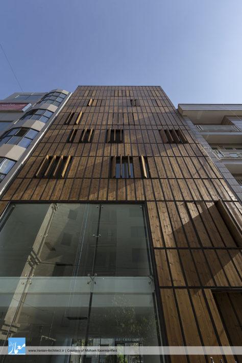 ساختمان اداری ـ تجاری سعادتآباد / محسن کاظمیانفرد