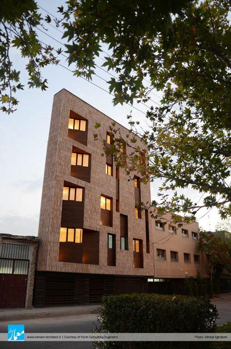 خانه مثلثی / مهندسان مشاور فرم