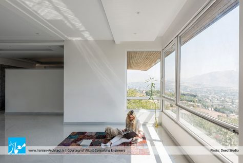 خانه ـ آپارتمان لواسان / مهندسین مشاور آتیزیست