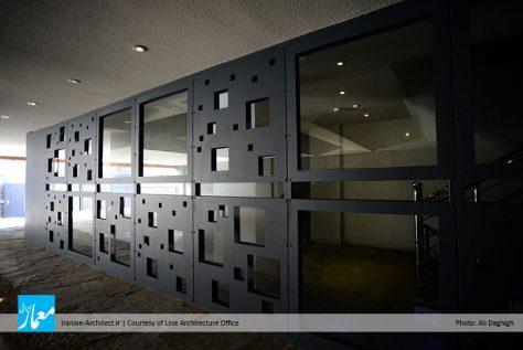 ساختمان اداری آرزو / دفتر معماری لاین
