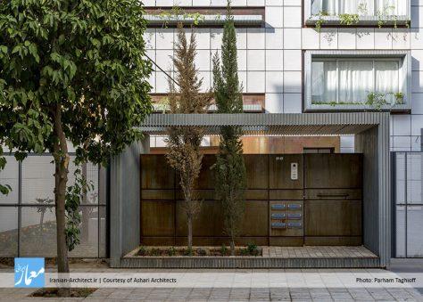 آپارتمان مسکونی قیصیزاده / دفتر معماری اشعری و همکاران