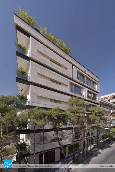 ساختمان مسکونی کیان / گروه معماری باراد