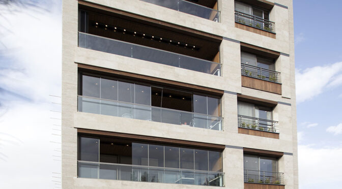 Kaj Boulevard Residential Building / Sarvestan Architecture Group