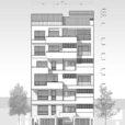 آپارتمان مسکونی درخشان / گروه معماری اثر