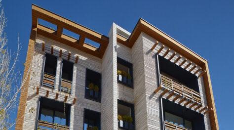 Golkhon Building / Miristudio