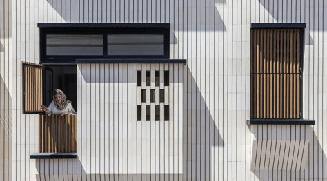 Rouzan Residential Building / Charchoob Architecture Office