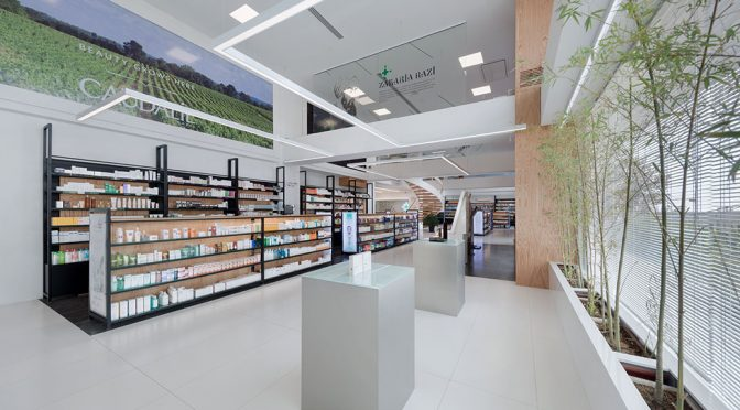 Rosha Pharmacy / 4 Architecture Studio