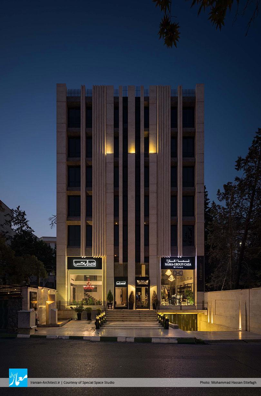 ساختمان اداری ـ تجاری هور / استودیو طراحی و ساخت فضای خاص