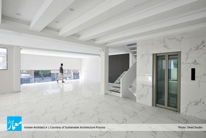ساختمان تجاری ـ اداری کوروش / مهندسان مشاور روند معماری پایدار