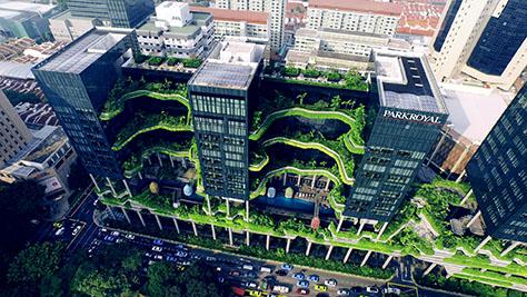 PARKROYAL on Pickering, Singapore / WOHA