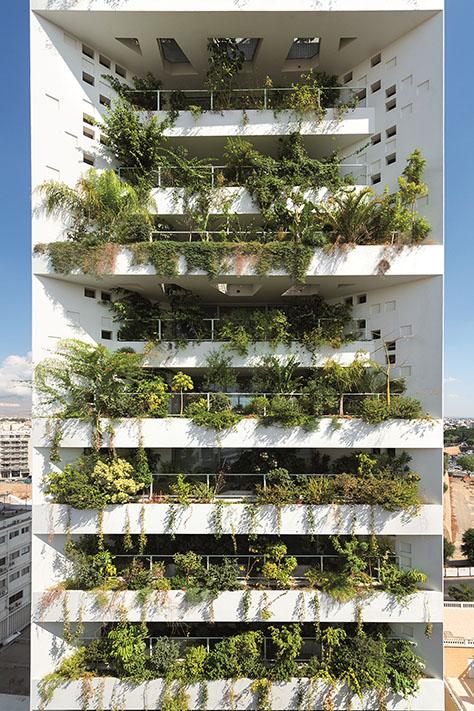 Tower25 - White Walls, Cyprus / Jean Nouvel