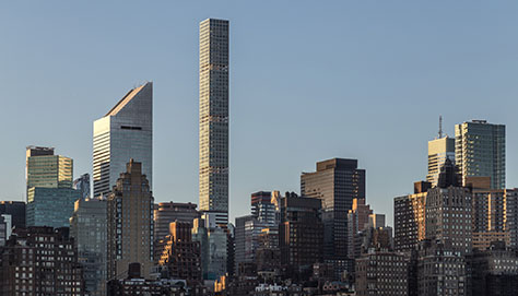 Supertall Pencil Tower in New York
