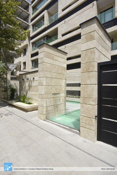 ساختمان مسکونی گلزار / گروه معماری باراد