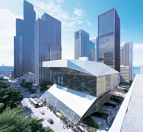 Seattle Central Library, United States / Rem Koolhaas, Joshua Prince-Ramus