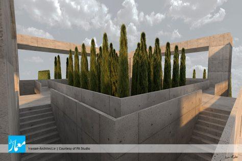 سردر ورودی دانشگاه شیراز / دفتر معماری فرایند بنیان