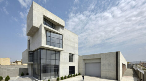 Cubes Warehouse / Nazar Idea Paidar Company