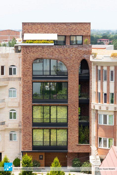 ساختمان مسکونی زورق / دفتر معماری اتفاق