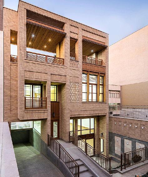 عمارت نظر / دفتر معماری میان (ابوذر صالحی، مهشید کریمی)