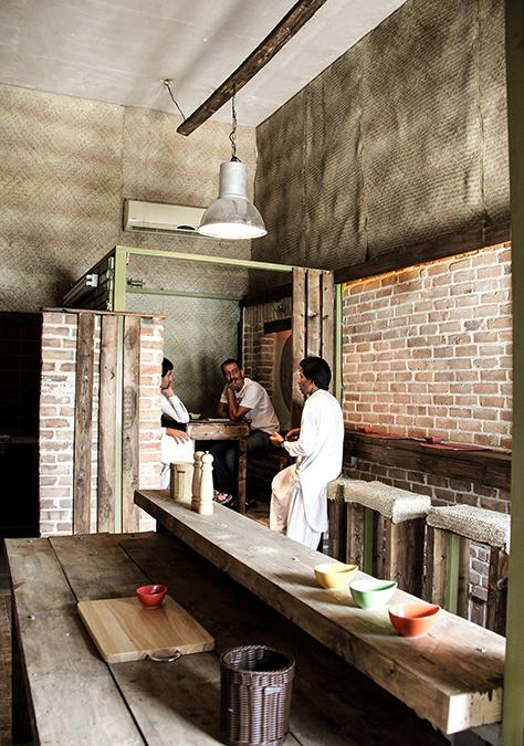 رستوران چاشت / مهندسین مشاور منظر بوم نقش