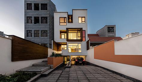 آپارتمان ژوان / مهندسین مشاور منظر بوم نقش
