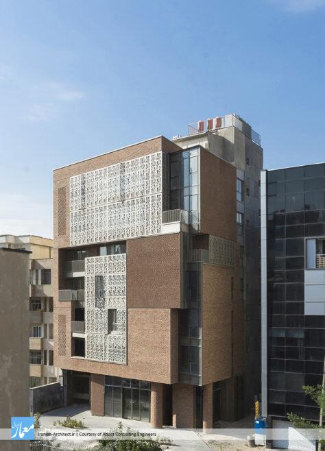 ساختمان اداری ـ تجاری ناهید / مهندسین مشاور آتیزیست