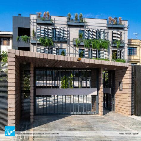 آپارتمان مسکونی شیمیگیاه / دفتر معماری اشعری و همکاران