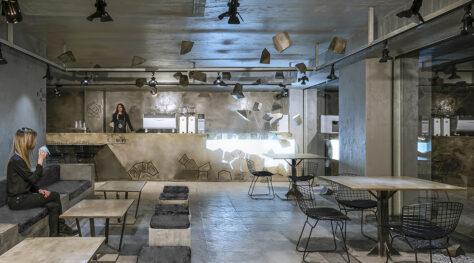 Carbon Cafe / OJAN Design Studio
