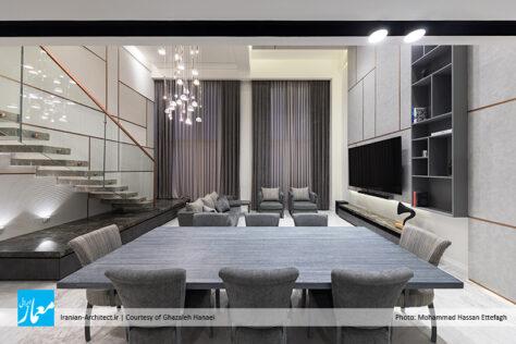 بازسازی آپارتمان بلوار / غزاله حنایی